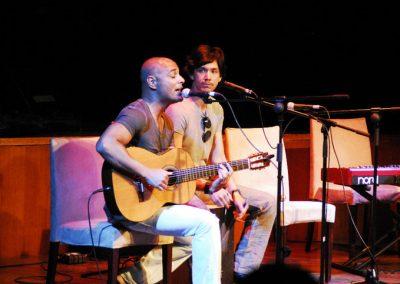 Actuación en Casa de América 2010