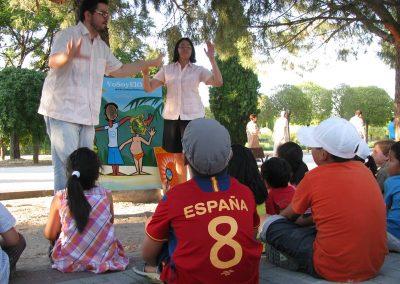 Cuenta caribe. Fiestas del barrio de Usera, en Madrid 2012