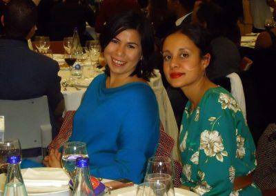Dagmary Olivar y Julia Rodriguez en los premios Afrosocialistas 2014