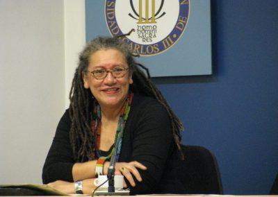 Gloria Wekker. Madrid 2009