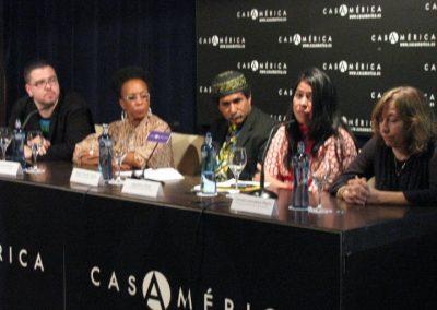 Jesús del Valle, Awilda Sterling, Jesús Chucho García, Dagmary Olivar y Carmen González Marín. 2009