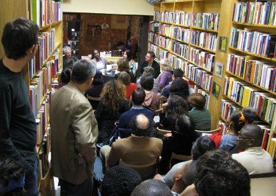 Juan Varela-Portas, Mayra Santos e YSEO. Librería Iberoameriacana 2º Congreso.