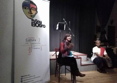 Presentación 2ª gira en España de Josefina Baez. Residui Teatro 10 de marzo de 2017