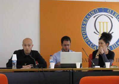 Presentación de Daniel Expósito. 2012