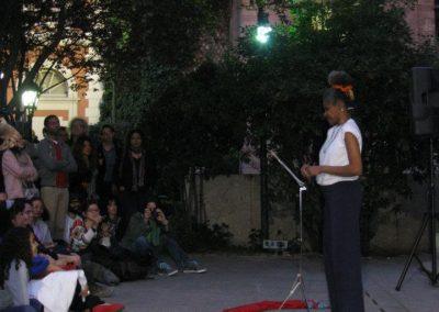 Presentación de Josefina Baez en Casa de América. Madrid 2012