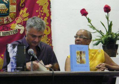 Presentación de el Libro El Mito de la mujer Caribeña en Puerto Rico. Juan Varela-Portas y Awilda Sterling. 2011