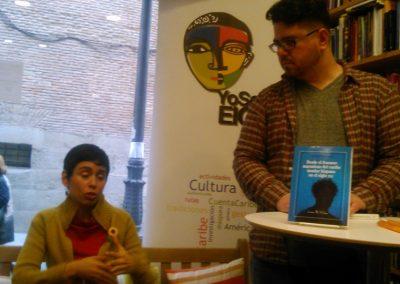 Presentación del Libro de Magdalena López en la Librería Iberoamericana de Madrid. 2016
