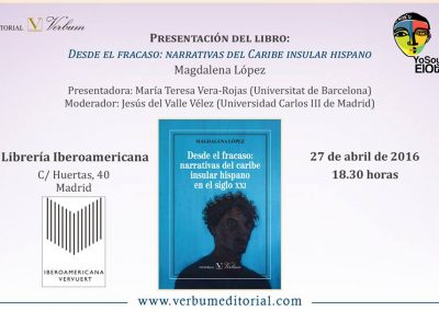 Presentación libro de Magdalena 2016