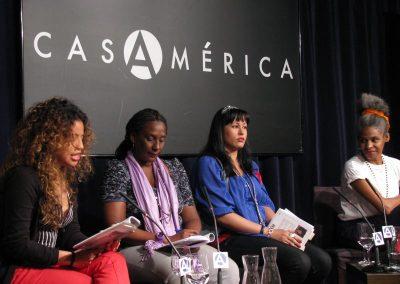 Recital de poesía en Casa América. 2012