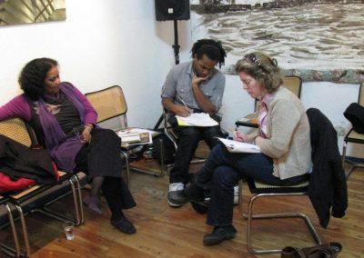 Taller de poesía de Lorna Goodison. 2009